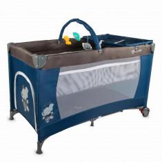 Patut bebe pliabil Coccolle Siesta Albastru