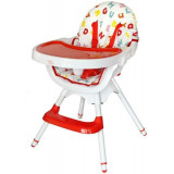 Scaun de masa multifunctional Modern Red