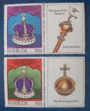 Cumpara ieftin Barbuda 1978 coroana si sceptru Rrgina Elisabeta 2v.mnh