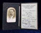 CORPUL CONTABILILOR AUTORIZATI SI EXPERTILOR CONTABILI -, SECTIUNEA BRAILA - CARTE DE IDENTITATE , ELIBERAT LA 22 FEBRUARIE 1927