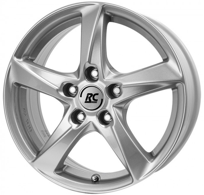 Jante SUZUKI SX4 7.5J x 18 Inch 5X114,3 et55 - Rc Design Rc30 Ks - pret / buc