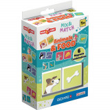 Joc de constructie magnetic Magic Cube, Animals and Food