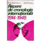 Repere de cronologie internationala 1914-1945