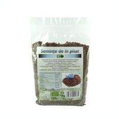 Seminte de In Pisate Bio 150 grame Deco Italia Cod: 6423850001784