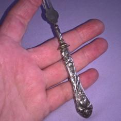 Furculita cu maner argint 800