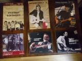 Set 6 cd compact, tudor gheorghe, andries, seicaru, celelalte cuvinte,  aldea