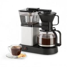 Klarstein GrandeGusto, aparat de cafea, 1690 W, 1.3 l, pre-infusion, 96° C, negru/argintiu