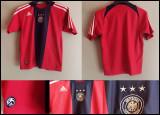 Tricou fotbal pentru copii Natinala Germaniei Rosu-Negru