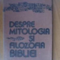 Despre filozofia si mitotogia bibliei-M.S.Belenki