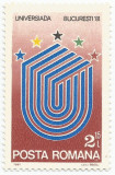 România, LP 1036/1981, Universiada '91, eroare 3, MNH
