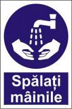 Indicator Spalati mainile - Semn Protectia Muncii, 4World