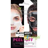 CARBO DETOX Masca de Curatare Peel-Off Black & White pentru EA & EL 2x6g