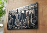 Tablou decorativ pe panza Horizon, 237HRZ4280, 70 x 100 cm, Multicolor