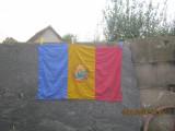 Cumpara ieftin tricolor-drapel -steag 1988,matase