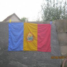 tricolor-drapel -steag 1988,matase