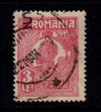 ROMANIA 1920 - FERDINAND UZUALE 3 LEI CU APOSTROF  EROARE DE CATALOG, Stampilat