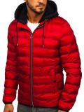 Cumpara ieftin Geacă de iarnă roșie Bolf 5332
