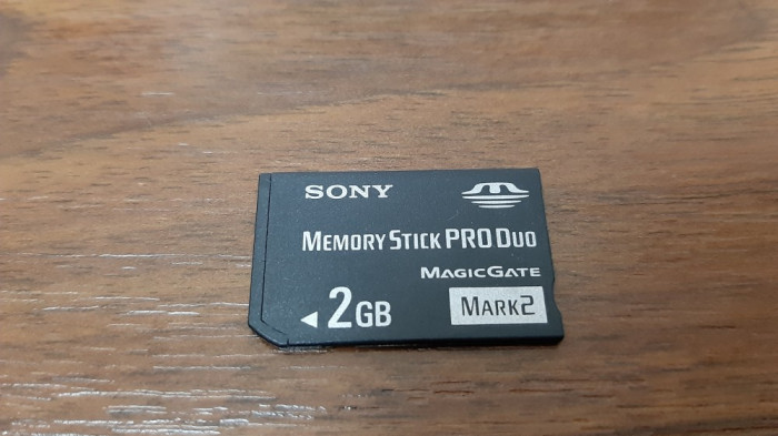 CARD SONY MEMORY STICK PRO DUO MAGICGATE 2 GB , MARK 2