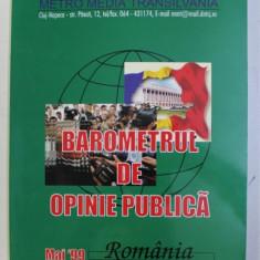 BAROMETRUL DE OPINIE PUBLICA, ROMANIA , MAI , 1999