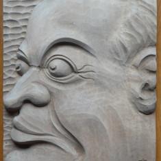 Sculptura in lemn de sculptorul Ioan H. Sarghie din Bucovina , 1931