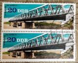 Germania (DDR) Pod peste râul Elba, Transporturi, Stampilat