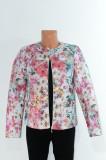 Geaca dama-Sandro Ferrone, S, Roz & Imprimeu floral