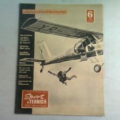 REVISTA SPORT SI TEHNICA NR.6/1967