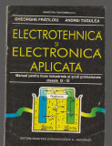 C9502 ELECTROTEHNICA SI ELECTRONICA APLICATA - FRATILOIU, MANUAL CLASELE IX - XI
