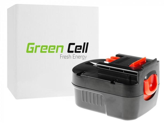 Acumulator Scule Electice Green Cell pentru Black&Decker A12 A1712 HPB12 12V 3Ah