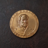 Medalie omagiala Ion Creangă - SNR sectia Iasi - 1989