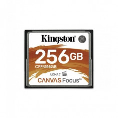 Compact flash card kingston canvas focus 256gb r/w speed: up