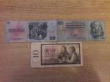 Bancnote si monezi Cehoslovacia