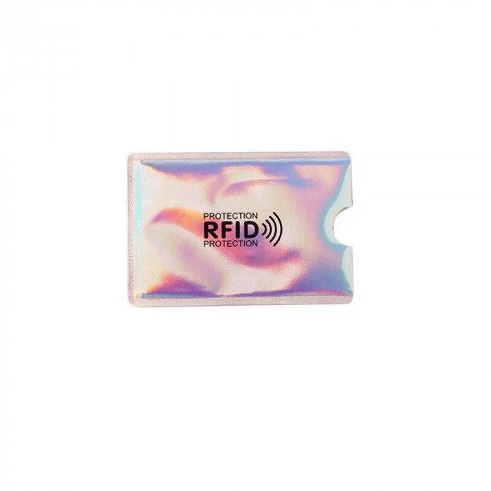 Folie protectie credit card bancar, contactless, model CF11M2