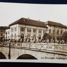 Bucuresti. Facultatea de Stiinte - CP Ilustrata