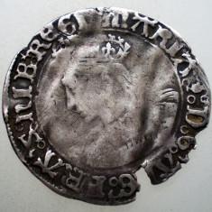 G.020 MAREA BRITANIE ANGLIA MARY TUDOR I BLOODY 1516-1558 1 GROAT ARGINT