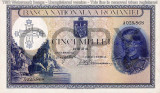 REPRODUCERE bancnota 5000 lei 1940