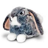 Iepuras de plus gri 24 cm Keel Toys