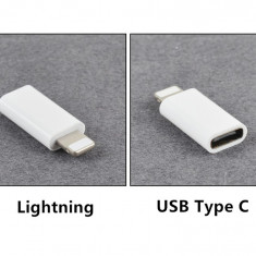 Adaptor Usb Type C la Lighting 8 Pin IPhone X XR XS 8 7 6 6S Type-C la iphone