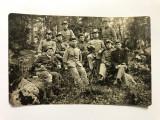 Fotografie veche grup de soldati - primul razboi mondial (1)