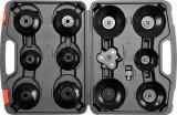 Set de chei tubulare pentru filtru de ulei 13 bucati YATO
