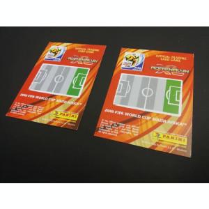 Set 2 cartonase diferite base Dirk Kuyt din colectia Panini Adrenalyn WC 2010