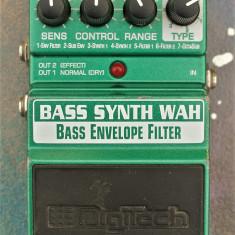 Digitech Bass Synth Wah / Bass envelope filter