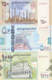 Bancnota Yemen 250, 500 si 1.000 Riali 2007-12 - P34-36 UNC ( set x3 )