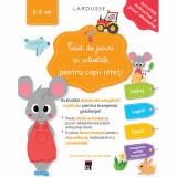 Caiet de jocuri si activitati pentru copii isteti 2-3 ani, Larousse