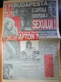 ziarul blitz nr 15-art despre bruce willis,demi moore,e.taylor,k.costner,sing