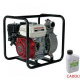 Cumpara ieftin Motopompa apa curata Honda WB20XT4, 2 , 3.5 CP, benzina, 620 l min, Hmax. 32 m