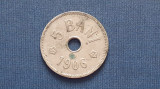 Romania , 5 bani 1906 J