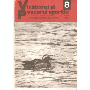 Revista Vanatorul si pescarul sportiv   nr.8-1977