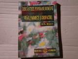 DESCANTECE POPORANE ROMÂNE - VRAJI FARMECE SI DESFACERI - S. FL. MARIAN 242P