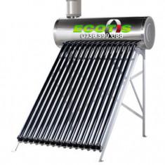 Panou solar din inox 200 litri cu flotor